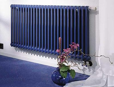 Гармонично вписанный радиатор отопления в интерьер помещения