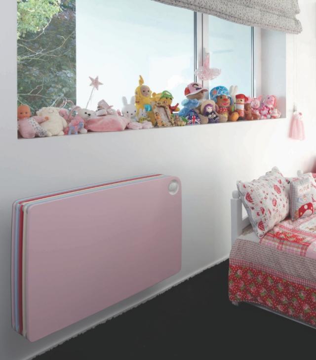 Дизайнерское решение отопительного радиатора для детской комнаты