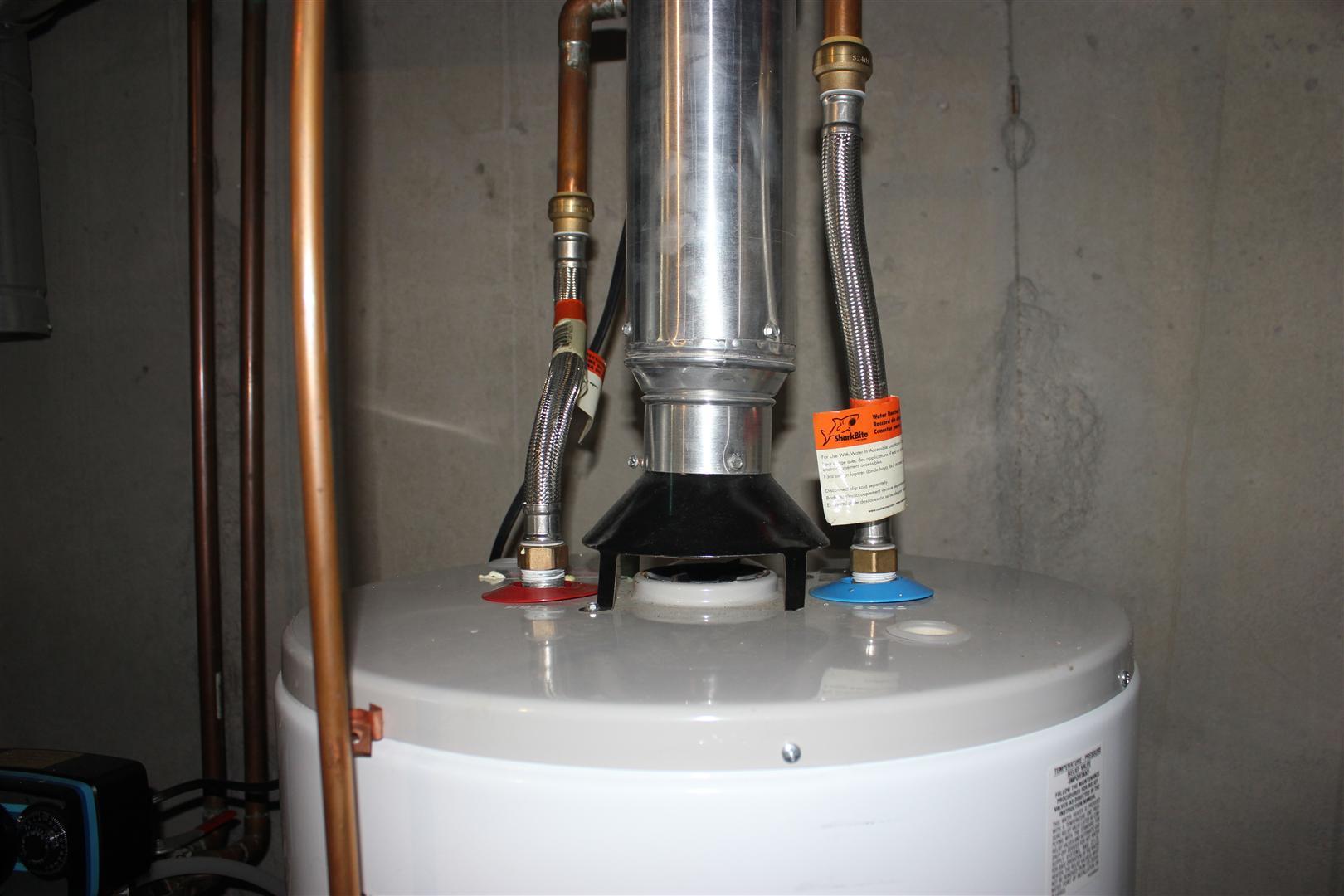 Подключение водонагревателя к трубопроводу