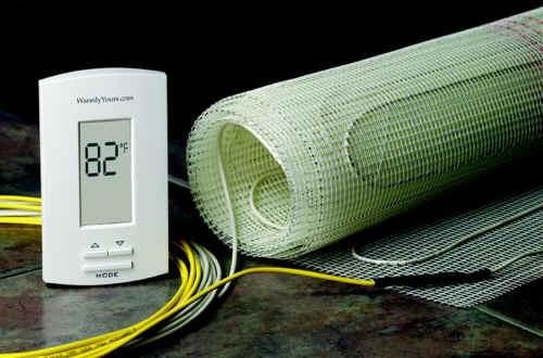 подключения электрического теплого пола