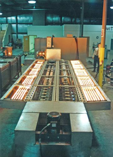 Производственный инфракрасный обогреватель