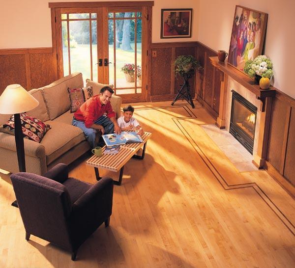 как деревянный пол сделать теплым