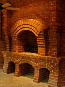 Строительство кирпичной банной печи