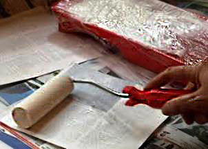 Подготовка к росписи