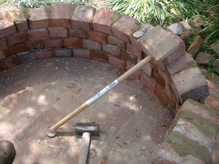Фундамент печки