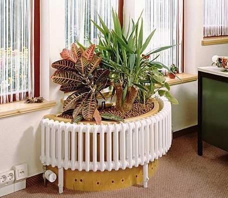 Радиаторы отопления нестандартной формы