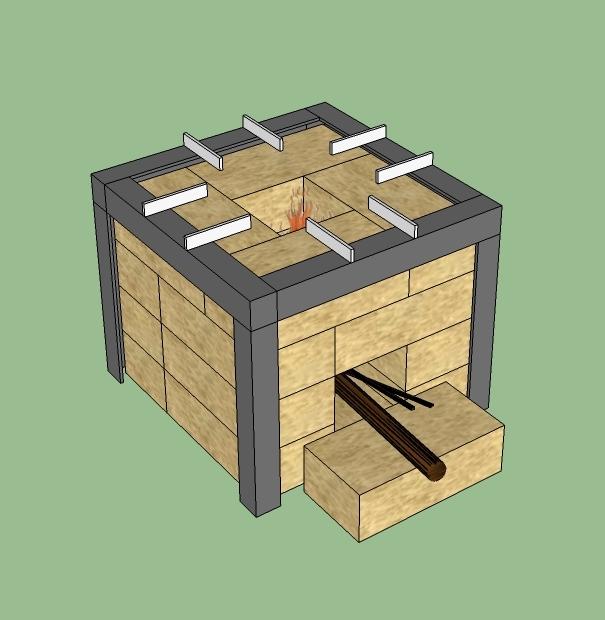 Устройство мини печи