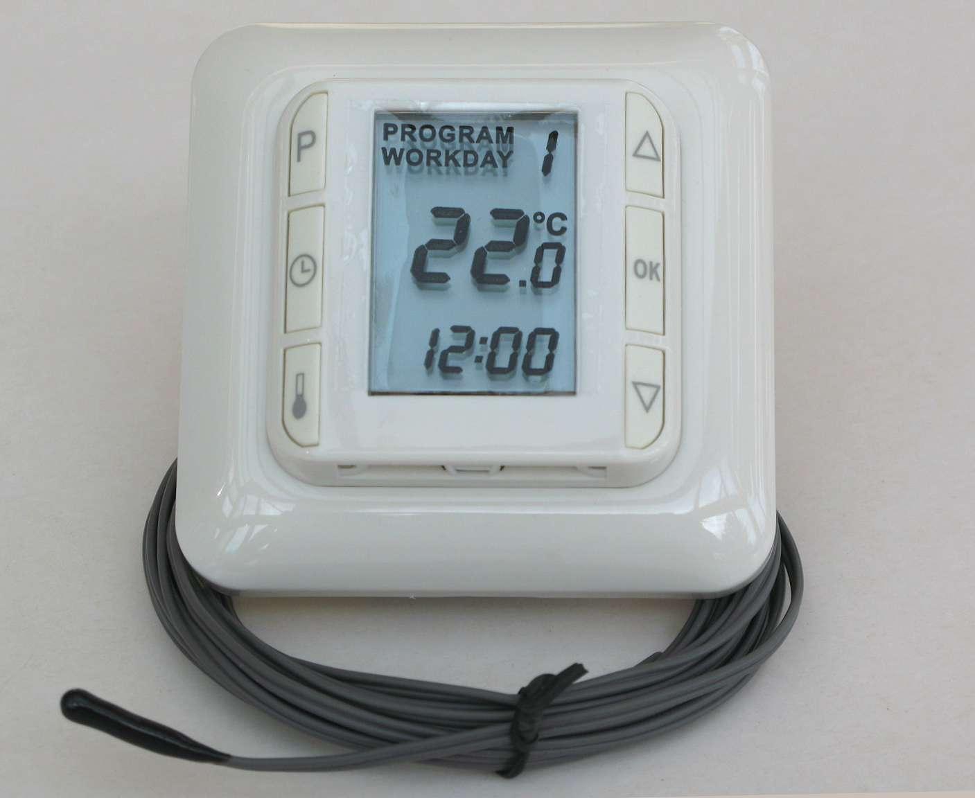 температуры водяного теплого пола