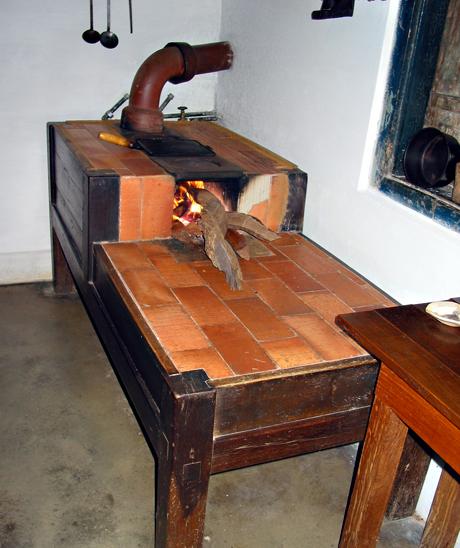 Самодельная печь для дома на дровах