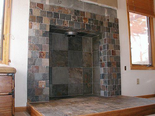 Облицовочная плитка для камина