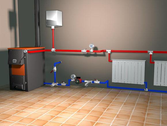 Принудительная циркуляция в системе отопления