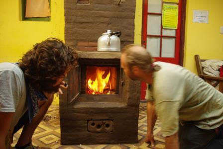 Отопительная печь для дома