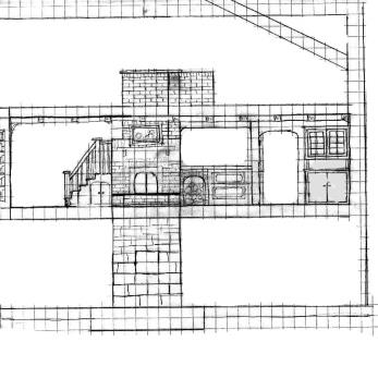 Конструкция печи в большом доме