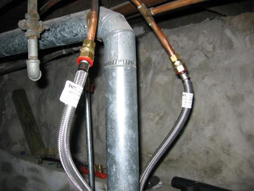 Подключение нагревателя воды