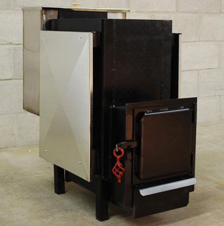 Железная печь в бане
