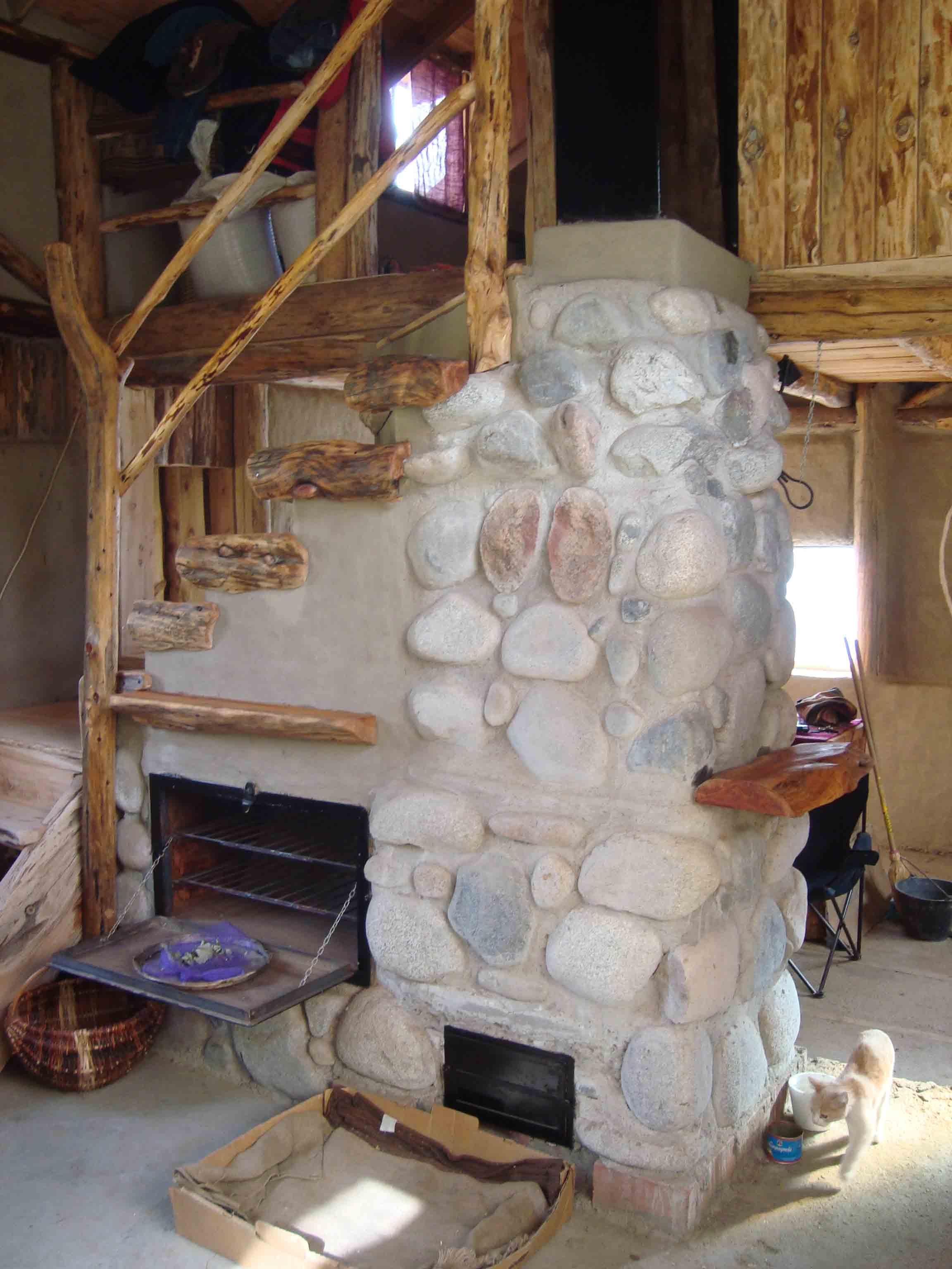 Русская печь камин