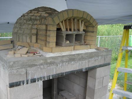 Комбинированная печь-камин