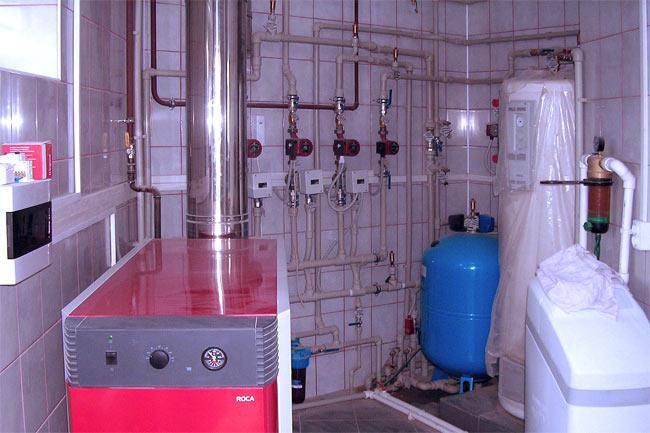 Система электрического отопления коттеджа