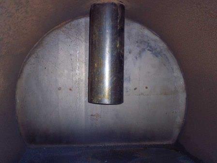 Газогенераторная печь с водяным котлом