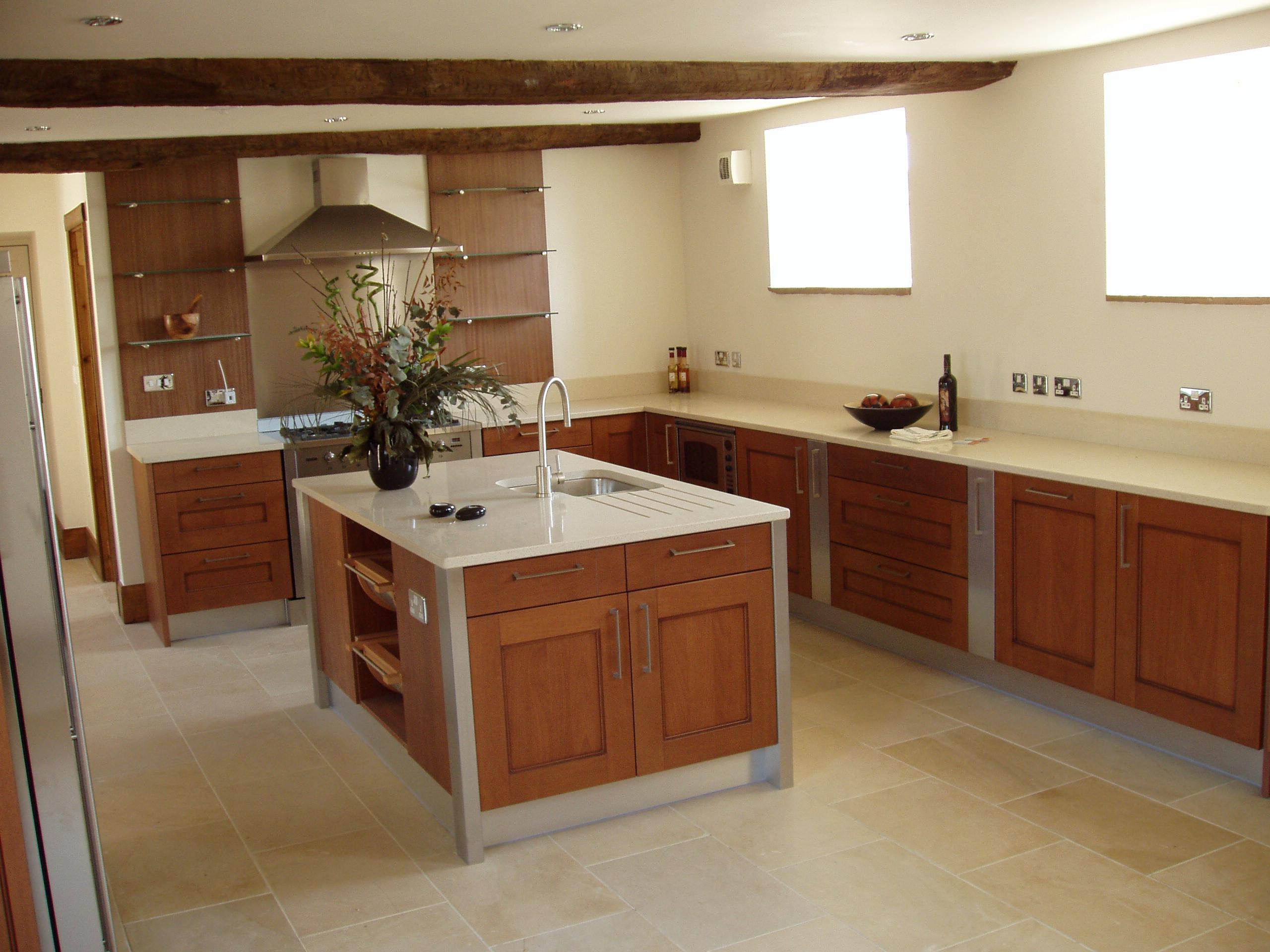 теплый пол на кухне под плитку