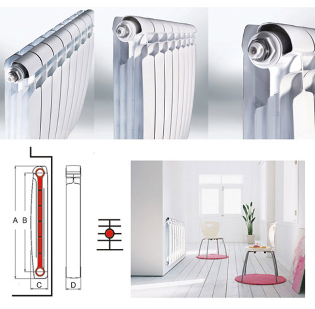Особенности биметаллического радиатора