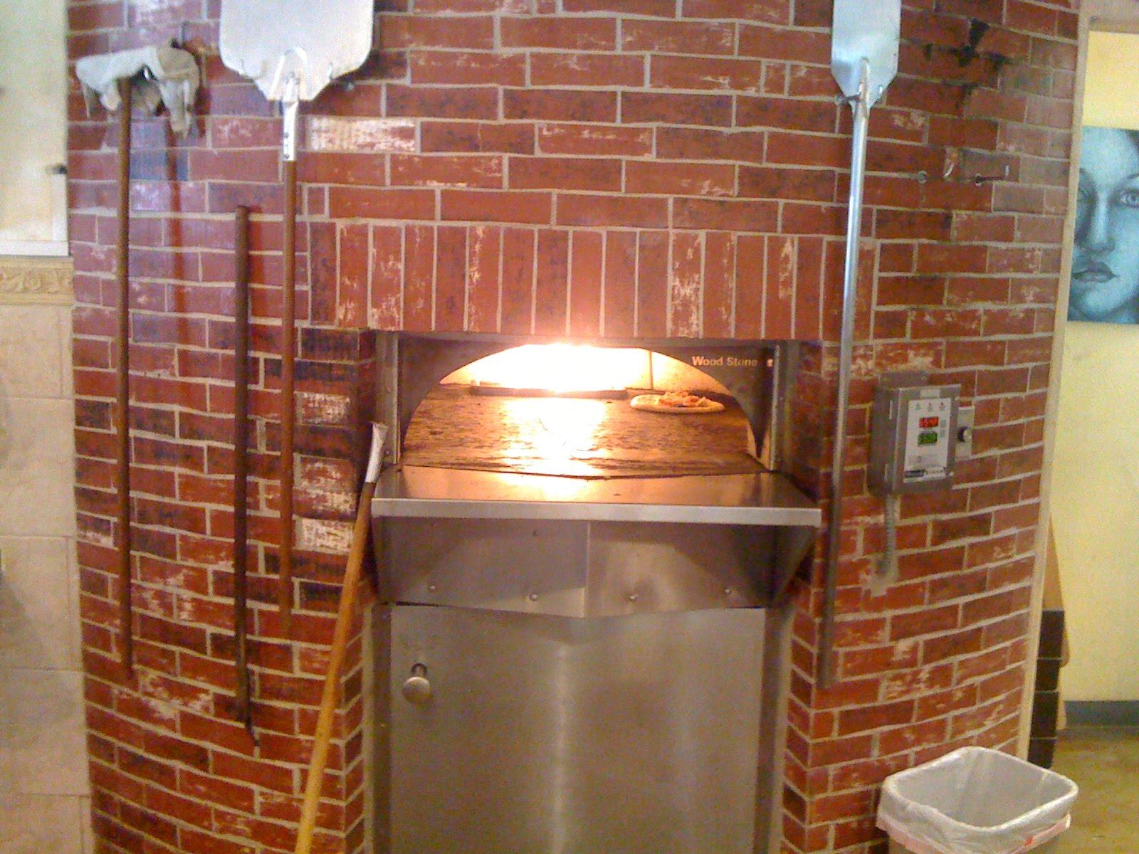 Удобная печь из кирпича