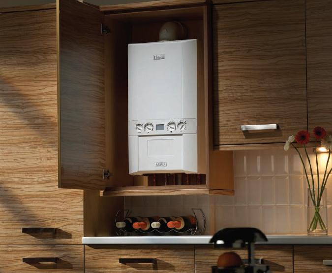 Подключение газового бойлера на кухне