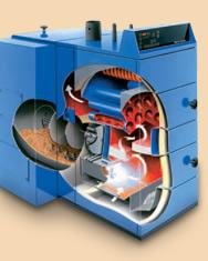 Автоматические котлы на твердом топливе