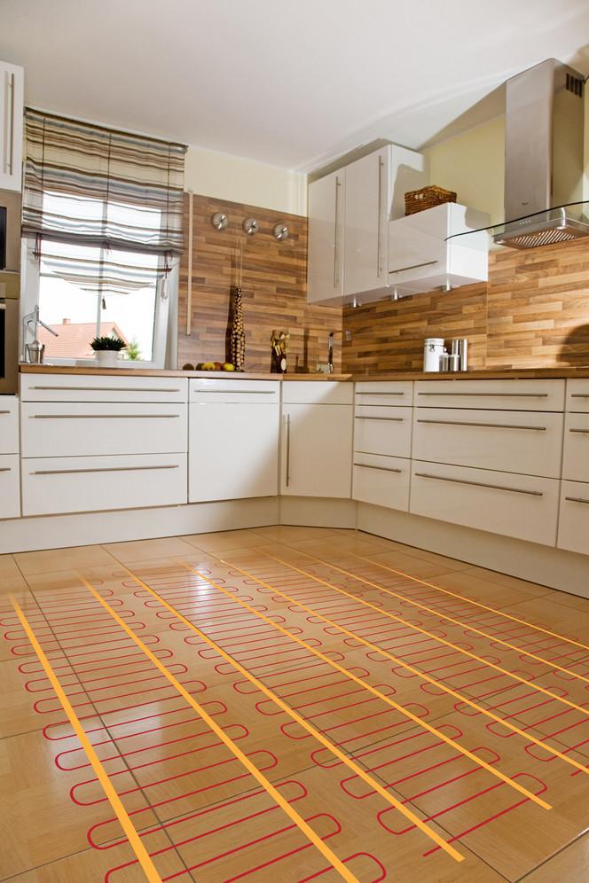 теплый пол на кухне своими руками
