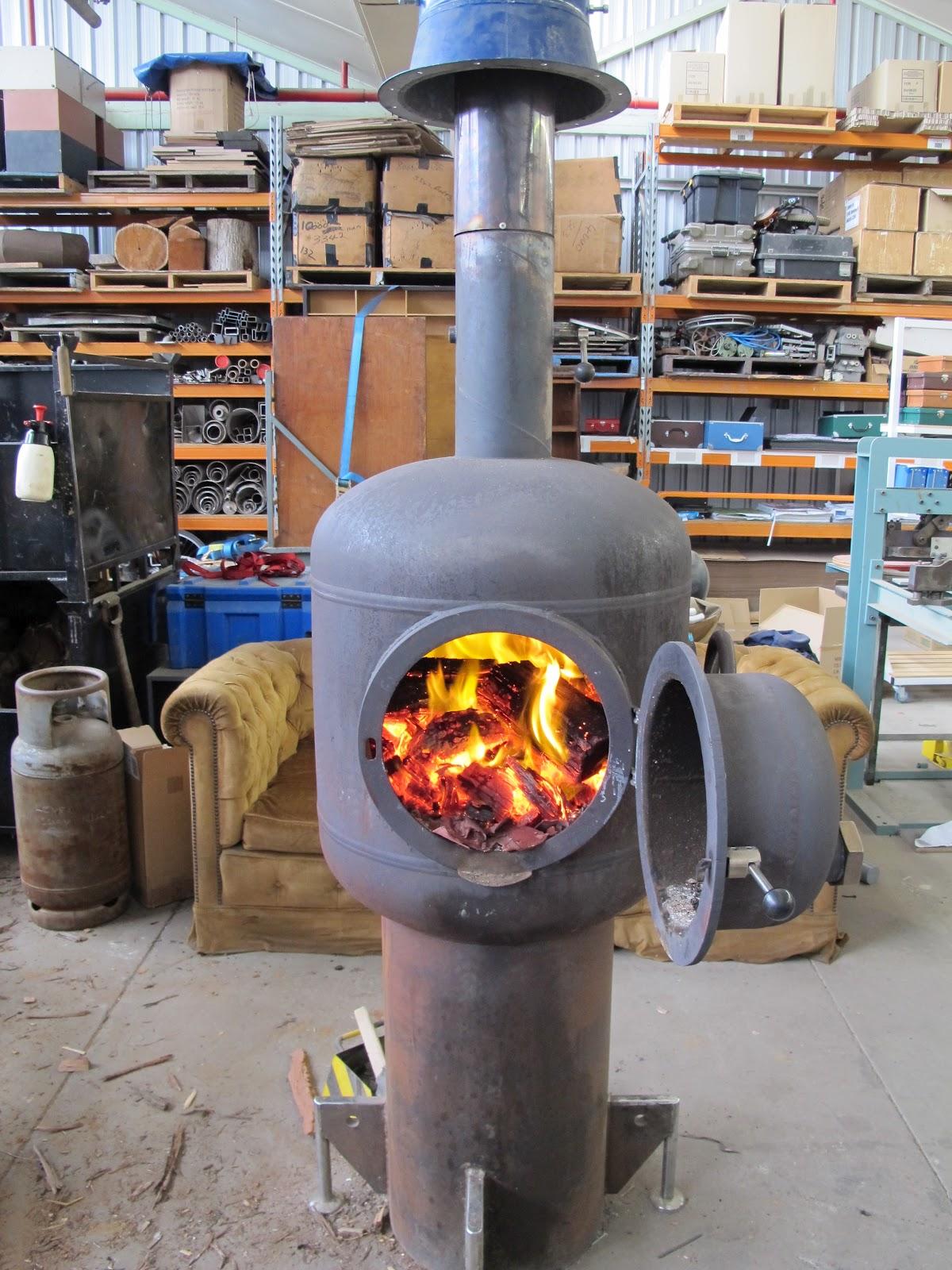 Удобная дровяная печь
