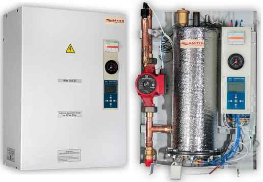 Устройство электрического котла отопления