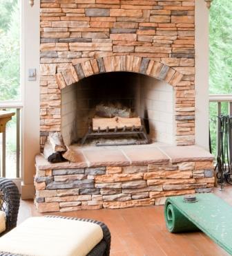 Печь-камин для дома