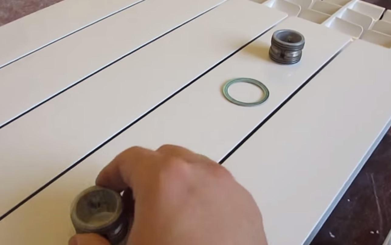Прокладки и заглушки для радиатора